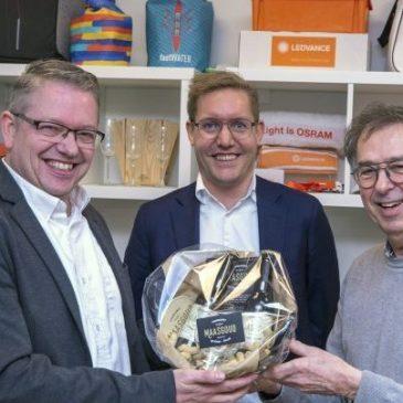 Duurzaamheidsoorkonde voor ZaaKado op Schiebroek