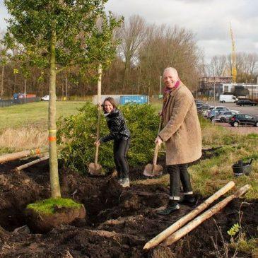 Business Park Amsterdam Osdorp krijgt extra bomen